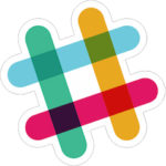 Slack Logo, which links to our Slack team